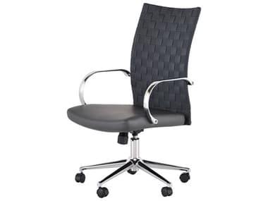 Nuevo Mia Grey / Chrome Executive Chair NUEHGJL395