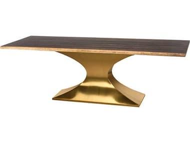 Nuevo Praetorian 112'' x 44'' Rectangular Dining Table NUEPRAETORIANDININGTABLEL112