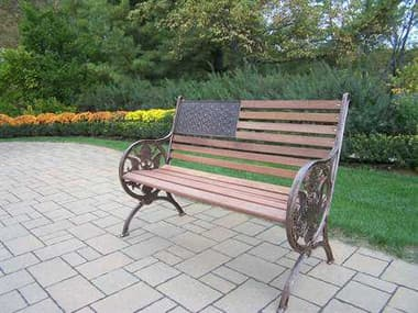 Oakland Living American Eagle Cast Iron Proud American Bench OL60112AB