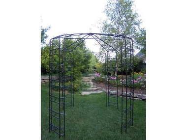 Oakland Living Mississippi Wrought Iron Garden Gazebo OL5017HB