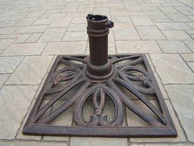 Oakland Living Mississipi Cast Iron Square Umbrella Stand in Antique Bronze OL4102AB