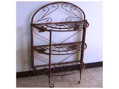 Oakland Living Wrought Iron Bakers Rack Sundance in Antique Bronze OL5305AB