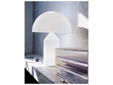 Oluce Atollo White Large Four-Light Table Lamp OE235