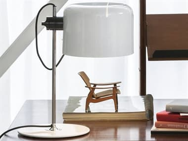 Oluce Coupe Black Table Lamp OE2202BL