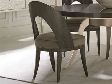 Open Box Caracole Classic Midnight Maple Dining Side Chair OBXCACCLA417281