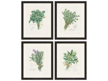 Paragon Roberts Herbs Exclusive Giclee Painting (Four-Piece Set) PAD1491