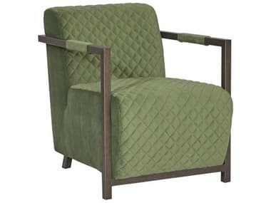Phillips Collection Green / Industrial Silver Accent Chair PHCPH99967