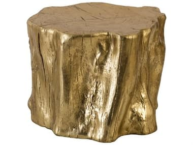 Phillips Collection Gold Leaf Accent Stool PHCPH97051