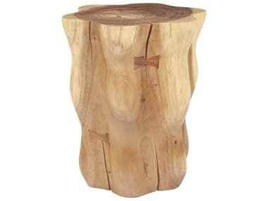 Phillips Collection Natural Brown Accent Stool PHCTH100629
