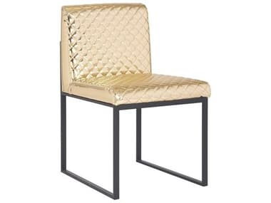 Phillips Collection Gold / Black Side Dining Chair PHCPH99959