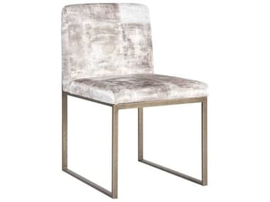 Phillips Collection Beige Mist / Antique Brass Side Dining Chair PHCPH99962