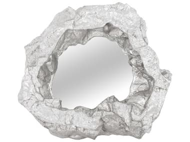 Phillips Collection Rock Pond Silver Leaf Wall Mirror PHCPH81110