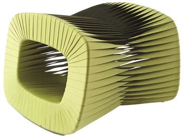 Phillips Collection Seat Belt Chartreuse Ottoman PHCB2064GZ