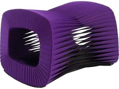 Phillips Collection Seat Belt Purple Ottoman PHCB2064PU