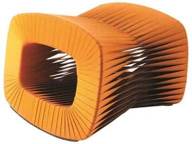 Phillips Collection Seat Belt Orange Ottoman PHCB2064ZZ