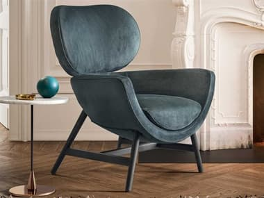 Pianca Laurie Rovere Grigio Accent Chair PIAD9LA015