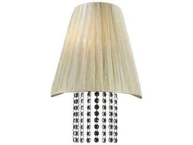 PLC Lighting Angelina Beige Incandescent Wall Sconce PLC73028BEIGE