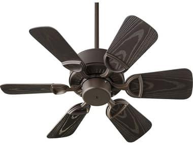 Quorum International Estate Patio Oiled Bronze 30'' Wide Outdoor Ceiling Fan QM14330686