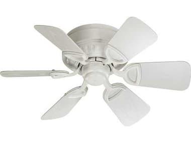 Quorum International Medallion Patio Studio White 30 Inch Outdoor Ceiling Fan QM1513068