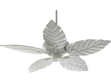 Quorum International Monaco Studio White 52 Inch Outdoor Ceiling Fan QM1355258