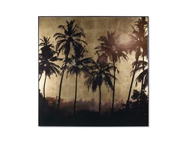 Sonder Distribution Accent Gold Leaf Palm Tree Grove RD1206483