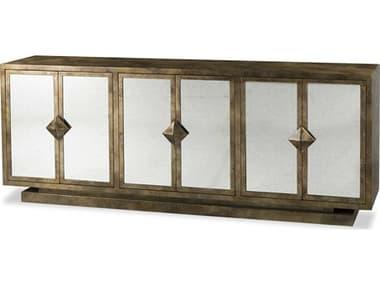 Sonder Distribution Harlow Gold & Silver 82''W x 18''D Rectangular Cabinet Buffet RD1504013