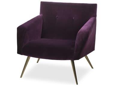 Sonder Distribution Kelly Deep Purple Accent Chair RD1402010