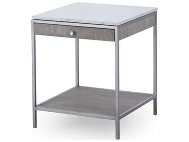 Sonder Distribution Paxton Silver Oak with Brushed Nickel 20'' Wide Square End Table RD0801237