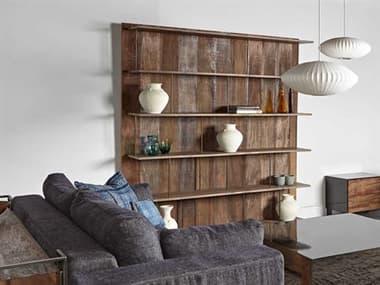 Sonder Distribution Peyton Oak & Dark Bronze Bookcase RD0704238