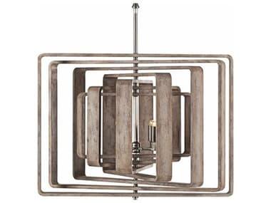 Sonder Distribution Spiral Driftwood 4 30'' Wide Medium Chandelier RD1007063
