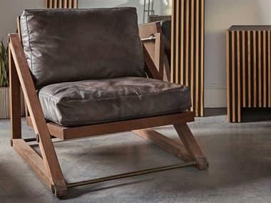 Sonder Distribution Teddy Destroyed Black Accent Chair RD0702145