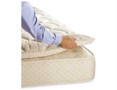 Royal Pedic Classic All Cotton Royal-Cloud 3 Inch Pillowtop Pad RPRPACPP3