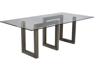 Saloom Furniture Serpent Nantucket 84'' Wide Rectangular Dining Table SLMGCFS4484SERQSNANTUCKET