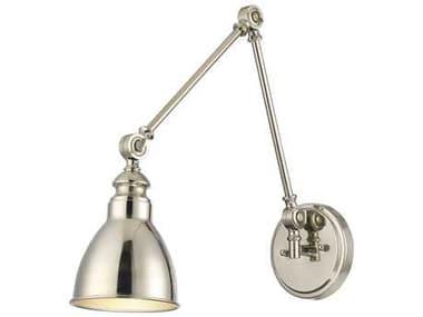 Savoy House Dakota Polished Nickel Swing Arm Light SV99601109