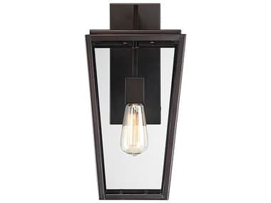 Savoy House Milton English Bronze 1-light Glass Outdoor Wall Light SV554713