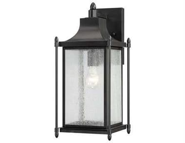Savoy House Outdoor Living Dunnmore Black Outdoor Wall Light SV53452BK