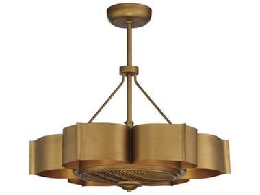 Savoy House Stockholm Gold Patina Six-Lights 31'' Wide LED Indoor Ceiling Fan SV39FD12554