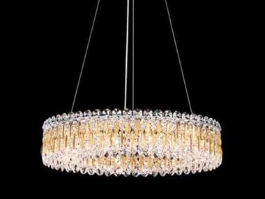 Schonbek Sarella 12-light 24'' Wide Crystal Swarovski Pendant S5RS8343