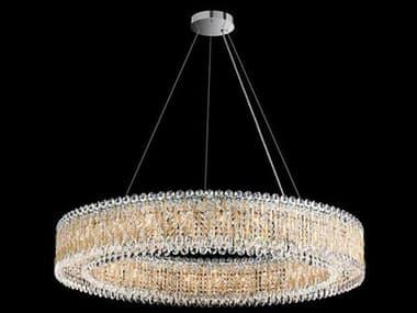 Schonbek Sarella 27-light 48'' Wide Crystal Swarovski Pendant S5RS8350