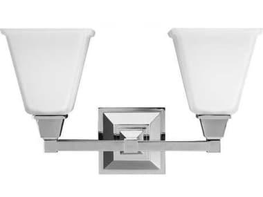 Sea Gull Lighting Denhelm Chrome Two-Light Wall Sconce SGL445040205