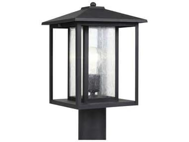 Sea Gull Lighting Hunnington Black Outdoor Post SGL8202712