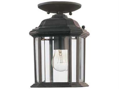 Sea Gull Lighting Kent Black Outdoor Hanging Light SGL6002912