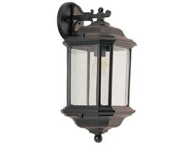 Sea Gull Lighting Kent Black Outdoor Wall Light SGL8403212