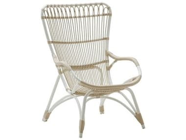 Sika Design Exterior Aluminum Dove White Monet Lounge Chair SIKSDE182DO