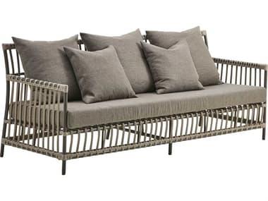 Sika Design Exterior Aluminum Moccachino Cushion Caroline Sofa SIKSDE326MC
