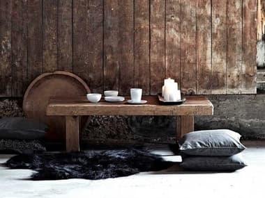 Sika Indoor Teak 51'' Wide Rectangular Coffee Table SKA9465D