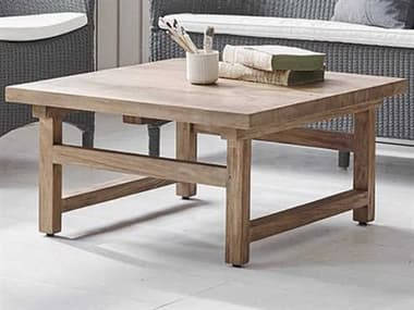 Sika Indoor Teak 31'' Wide Square Coffee Table SKA9468D