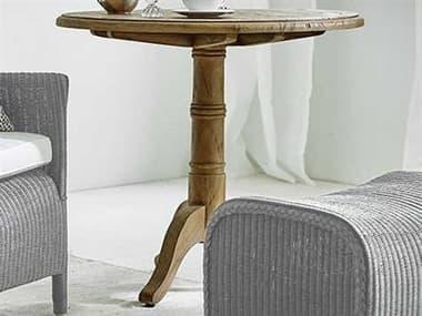 Sika Indoor Teak 31'' Wide Round Dining Table SKA9458D