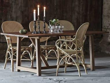 Sika Indoor Teak 70'' Wide Rectangular Dining Table SKA9472D