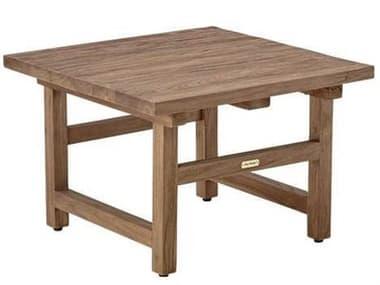 Sika Indoor Teak 23'' Wide Rectangular End Table SKA9467D